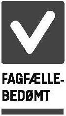 fagfællebedømt logo